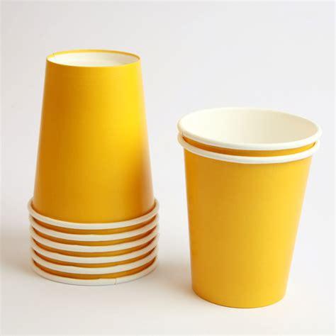 Murah Meriah Gat 1 Cup Yellow 25 yellow stripe paper straws lulubel