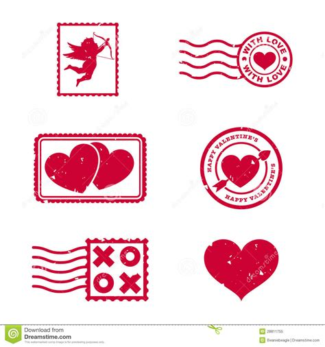 valentines day australia valentines day sts stock vector illustration of arrow