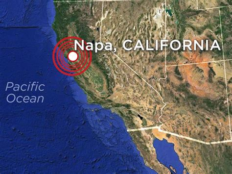 earthquake northern california state of emergency after northern california shaken by