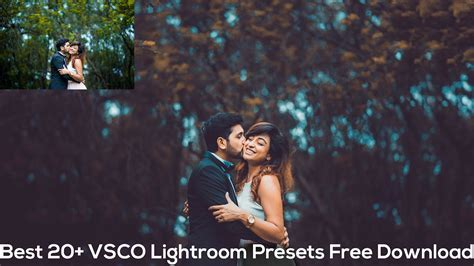 Best 20  VSCO Lightroom Presets Free Download   Best