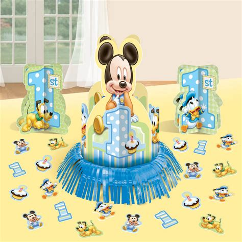 baby mickey mouse 1st birthday decorations www imgkid