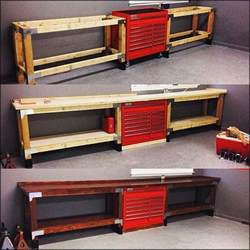 Garage Organization Workbench Throwbackthursday June 2015 Cap2529 Posted His