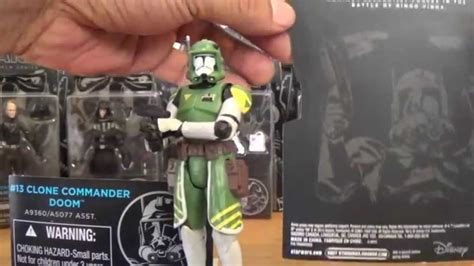 Wars Clone Commander Doom Black Series wars the black series 13 clone commander doom