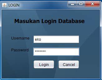 cara membuat form login menggunakan netbeans cara membuat form login di netbeans menggunakan database