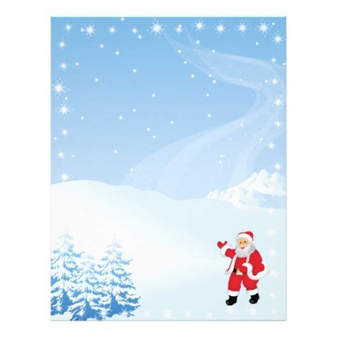 free printable santa letter borders letter from santa border search results calendar 2015