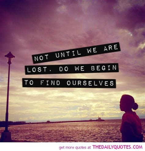 Finding Lost Finding Lost Quotes Quotesgram