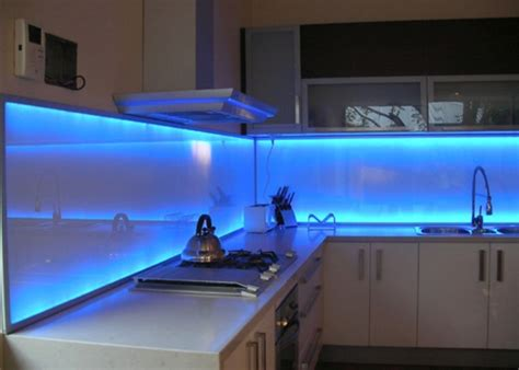 led backsplash 50 kitchen backsplash ideas