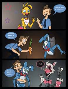 Fnaf follow me and a bunny on pinterest