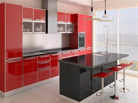 black and red kitchen ideas black and red kitchen designs kitchen design ideas with