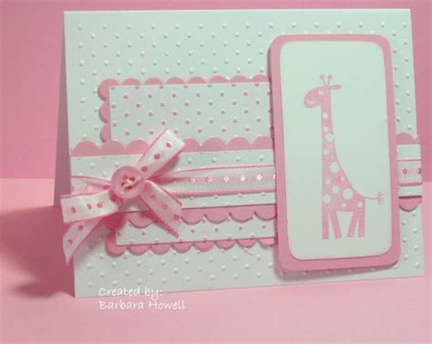 Baby Handmade Cards - 161 best stin up baby cards images on