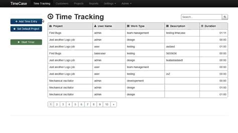 php echo date format mysql timecase time tracking web app