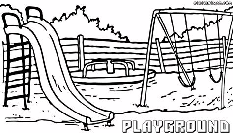 coloring pages play playground coloring pages coloring pages to and