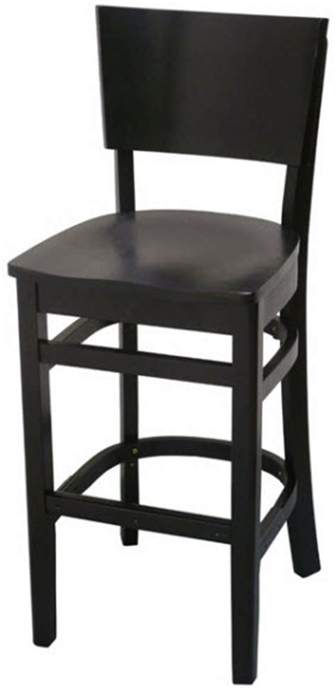Wood Bar Stools Canada by Curved Back Wood Bar Stool Restaurant Furniture Canada