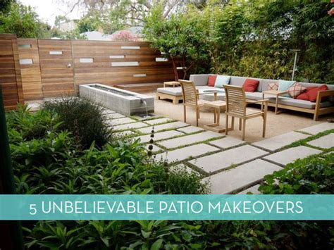 Patio Makeovers Before And After 5 Inspiring Porch And Patio Makeovers