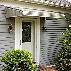 amazon awnings amazon com 1500 series aluminum door canopy with