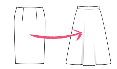 how to make an a line skirt sewing burdastyle
