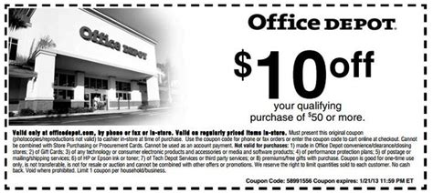 office depot coupons free shipping office depot 20 off coupon w discount code coupon code 2015