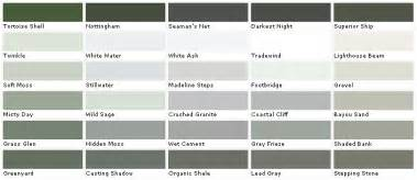 valspar gray paint color chart valspar lowes american tradition by materials world