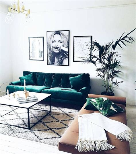 green sofa living room decor 25 best ideas about living room inspiration on