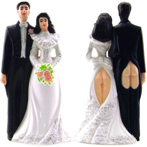 wedding cake topper with stupid wedding cake topper