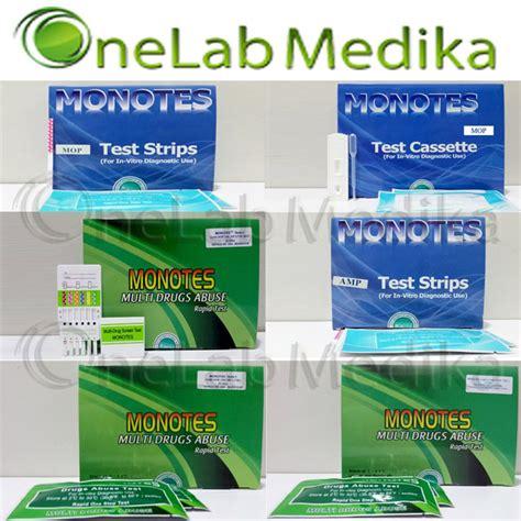 Alat Test Narkoba 3 Parameter jual alat tes narkoba monotes murah onelab medika