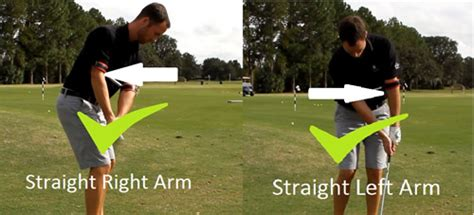 left arm straight golf swing how to chip in golf perfect your technique with the