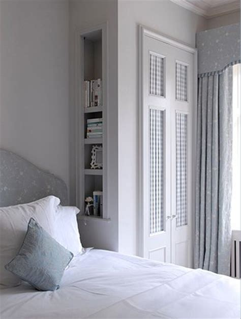 Wallpaper Closet Doors by Home Dzine Bedrooms Dress Up Closet Doors With Fabric