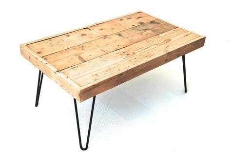 Hairpin Leg Coffee Table Billy Coffee Table With Hairpin Legs By Renn Uk Notonthehighstreet