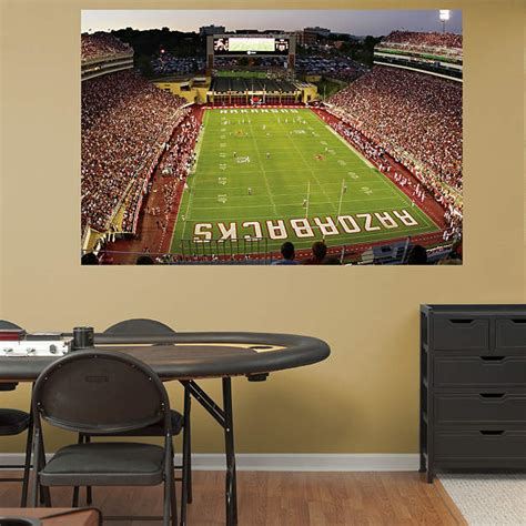 arkansas razorback home decor arkansas razorbacks razorback stadium mural wall decal