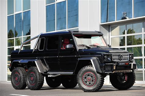 mercedes 6 wheel brabus b63s 700 6x6 mercedes benz g63 amg g wagen six wheeler