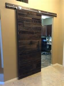 Barn Wood Door Modern Sliding Reclaimed Barn Wood Door Porter Barn Wood