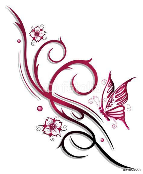 fiori tribali carta da parati ranke fiori tatuaggio tribale fiori di