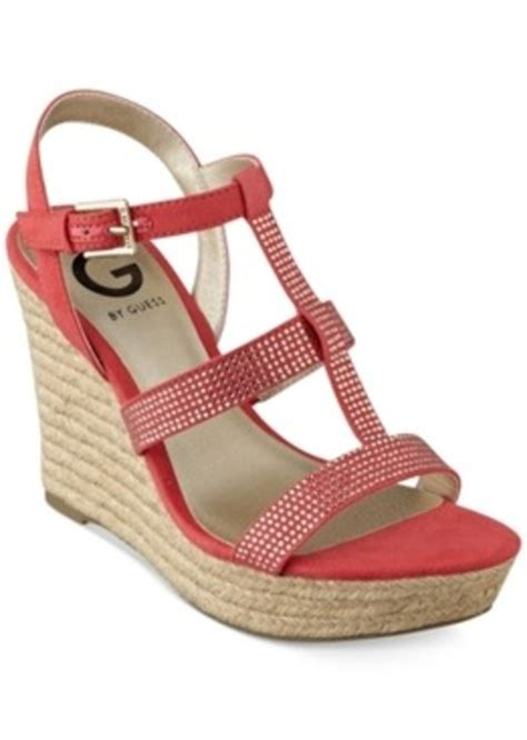 guess g by guess s elegace espadrille platform wedge