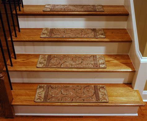rug stair treads carpet treads for hardwood stairs pictures to pin on pinsdaddy