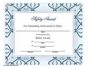 safety certificate template spelling bee certificates printable free new calendar