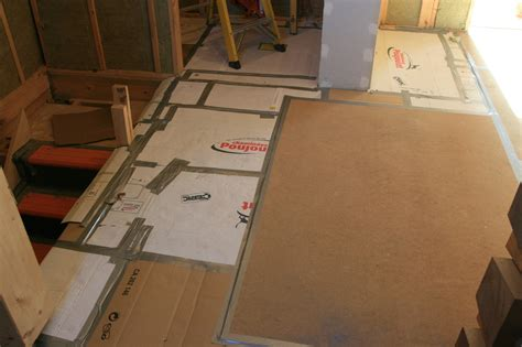 Cardboard Floor Covering by Floor Tiling Protection Methods Ecologhouse Sustainable