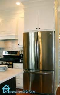 remodelando la casa building the refrigerator enclosure