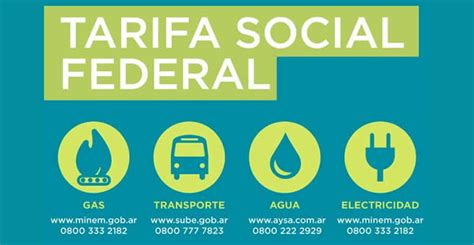 anses tramites onlaypara el subsidio de luz 2016 tarifa social federal en gas luz agua y transporte