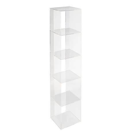 Acrylic Shelf by Now You See It Acrylic Shelf Bookcase The Land Of Nod