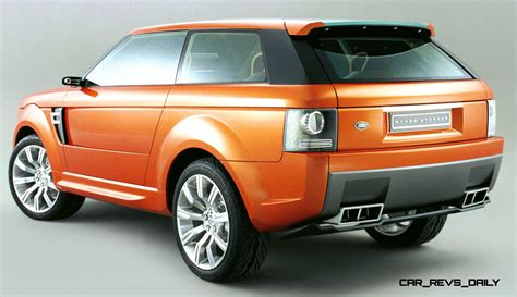supercar suv concept flashback 2004 range stormer previewed high