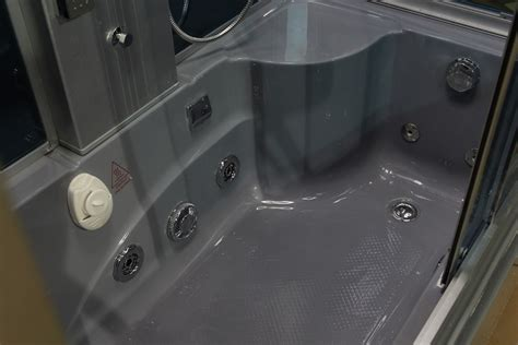 bathtub shower combo units eagle bath 59 inch steam shower with whirlpool bathtub