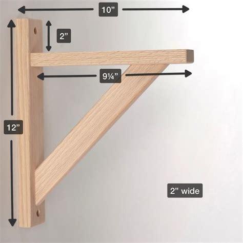 straight 10 wood shelf bracket garage projects know