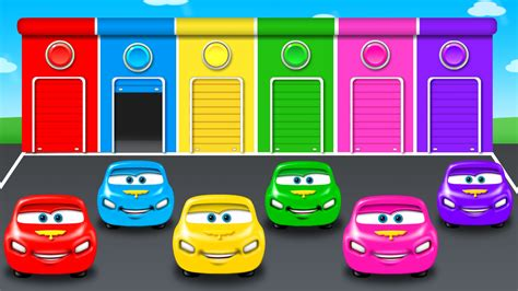car color colors for children to learn with color car colours