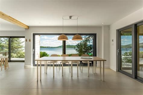 design house lighting canada warm minimalism by the quebec lakeside nonagon style