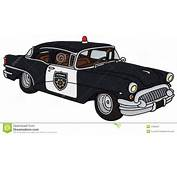 Old Police Car Royalty Free Stock Photography  Image