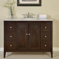 bathroom vanity and cabinet sets silkroad exclusive 48 quot single sink cabinet bathroom vanity