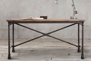 schreibtisch industrial 12 industrial desks you ll want for your home office