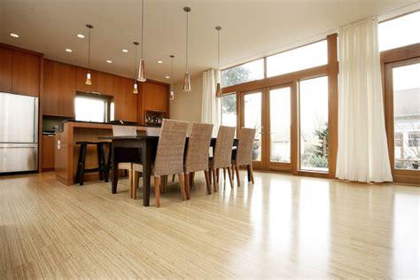 Green Kitchens Sustainable Flooring Bamboo Flooring In Kitchen