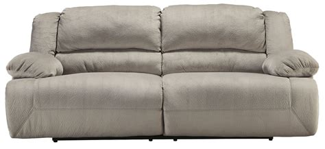 2 seat reclining sofa toletta granite 2 seat power reclining sofa from ashley