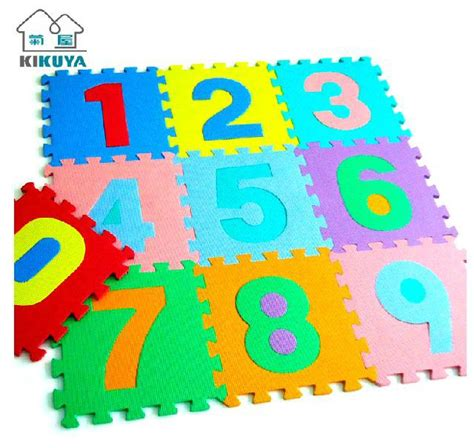 Evamats Puzzle Polos 30 X 30 aliexpress buy baby digital numbers puzzle foam mats pad play patchwork mat